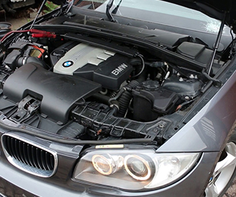 N47 BMW 118d Engine